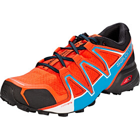 Salomon Speedcross Vario 2 Shoes Herre cherry tomato/black/fjord blue